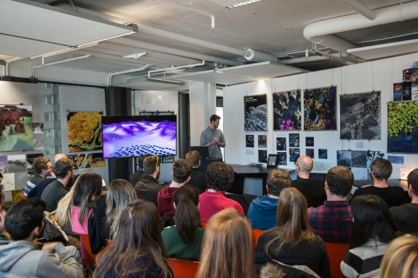 Bachelor Mid Term Presentations at Institute of Experimental Architecture and Building Construction at the University of Innsbruck, Austria | Foto: Students of the Arctic Studio and the University of Trento, Italy | 2017-12-13