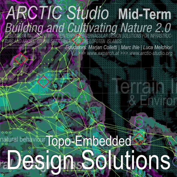 Arctic Studio | Presentations at the Insitute of Experimental Architecture | 16th of May 2018 | Image Background Student: Alexander Schidlbauer | Poster: Marc Ihle