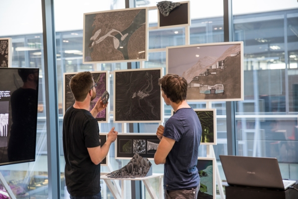 Arctic Studio   Final Presentation & Exhibition at the Faculty of Architecture of the University of Innsbruck   Fotos: Students Arctic Studio   2018