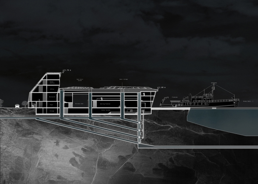 """SANDVIKA HARBOUR TERMINAL"" 